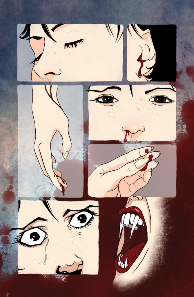 Prints now availabe: http://atomantic.deviantart.com/art/Why-Am-I-Bleeding-405122360